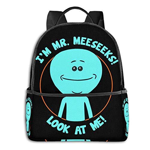 AOOEDM Backpack Mr Meeseeks Travel Laptop Backpack