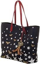 DC Comics Wonder Woman Logo Stars Oversized Tote Bag Purse