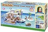 SYLVANIAN FAMILIES- Seaside Cruiser House Boat Mini muñecas y Accesorios, Multicolor (Epoch para Imaginar 5206)