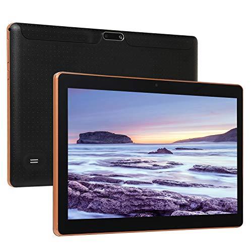 ZYING Tablet PC da 10 Pollici Economico,Tablet Android Portatile per chiamate 3G,1GB di RAM+16 GB di Rom (64 GB espandibili),WiFi,GPS,Bluetooth,Doppia Fotocamera,Display IPS