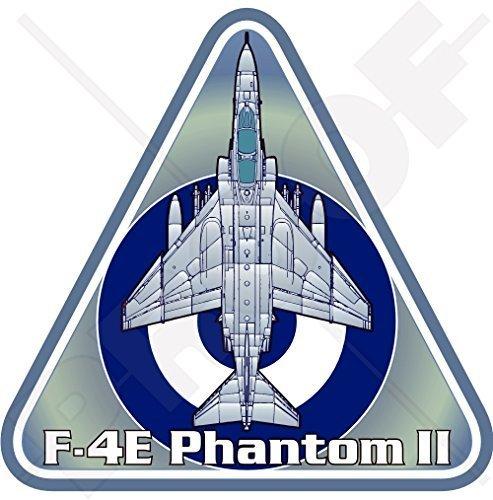F-4 PHANTOM II GRIECHENLAND McDonnell Douglas F-4E Griechische Luftwaffe HAF Griechisch Flugzeuge 95mm Auto & Motorrad Aufkleber, Vinyl Sticker