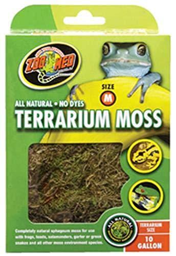 Zoo Med CF2-ME Terrarium Moss, M, natürliches Moos für Terrarien 2.46 litres