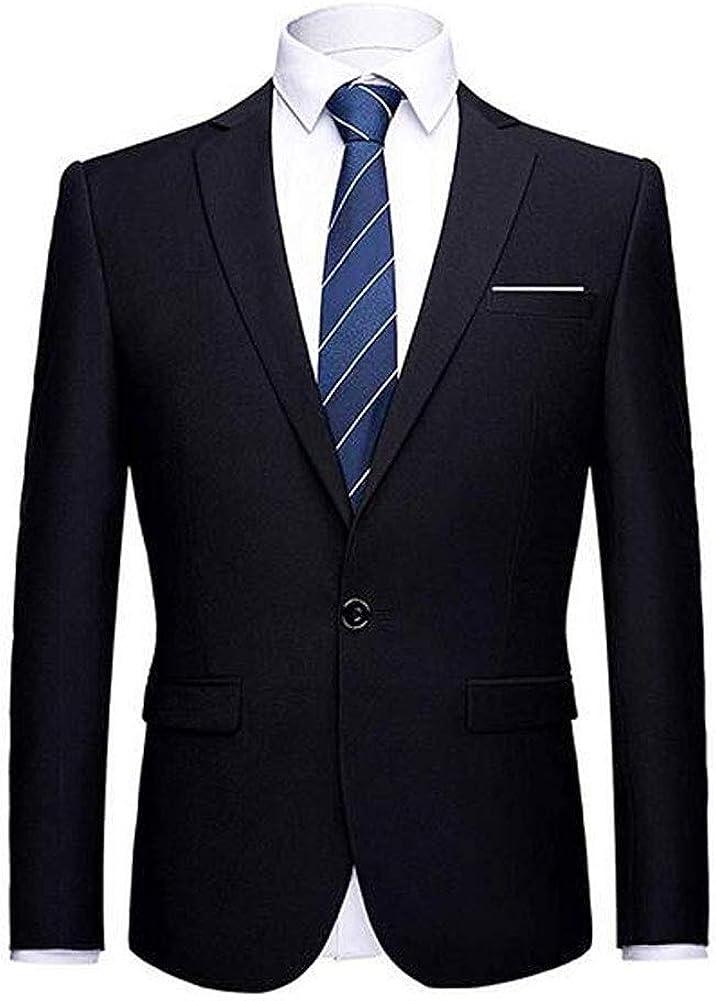 Men's Black Peak Lapel One Button Solid Blazer Casual Coat Prom Party Jacket Wedding Dinner Tuxedos Black 42/36