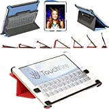 Touchfire Ultra-Protective Case, 3-D Keyboard, Sound Booster & Magnetic Mount for iPad Mini - Gray