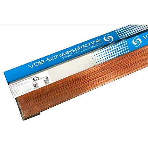 WIG Schweissdraht Stahlbau 1.5125 - W SG2 - MIX Von 1.2 bis 3.2 mm [ 1.6 & 2.4 mm - jeweils ca. 1.0 Kilogramm ]