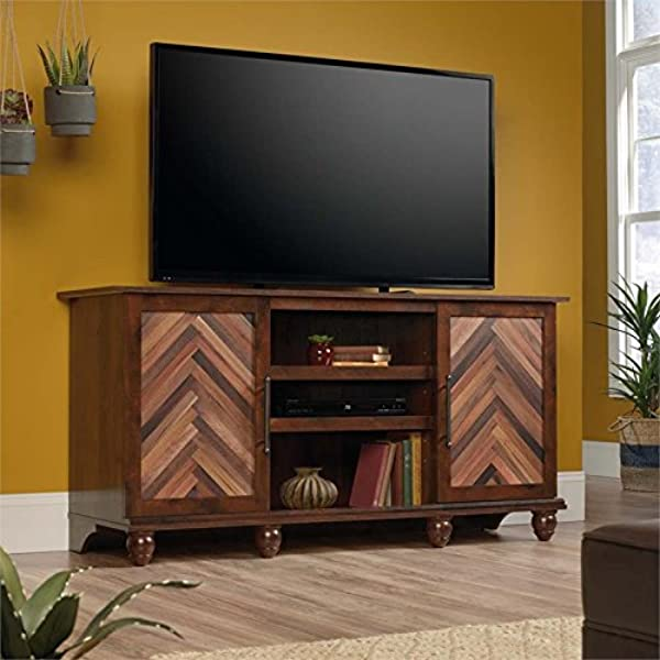Pemberly Row TV Stand In Curado Cherry