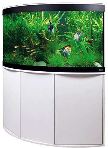 Aquariumkombination FLUVAL Venezia 190 mit LED-Beleuchtung, Heizer, Filter und Unterschrank weiß