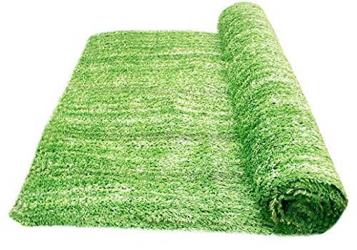 Artificial Grass Area Rug – Grass Height: 0.4' - Size: 4-feet x 6-feet - Perfect Color/Sizing for Any Indoor/Outdoor Uses and Decorations!