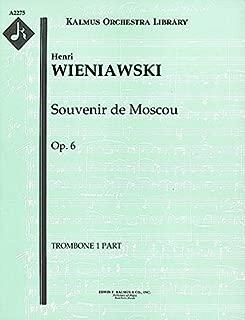 Souvenir de Moscou, Op.6: Trombone 1, 2 and 3 parts (Qty 2 each) [A2275]