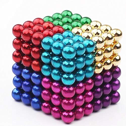 RONSHIN Hot 216 stks 5mm diy magische magneet magnetische blokken ballen bol kubus kralen puzzel gebouw speelgoed stress reliever