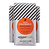 AmazonFresh Decaf Colombia Whole Bean Coffee, Medium...