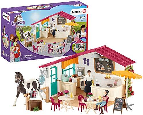 """SCHLEICH Horse Club - Set da gioco """"Reiter Café"""