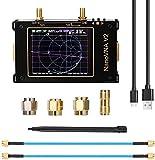 S SMAUTOP Analizador de Red Vectorial NanoVNA V2 50KHZ-3GHZ 3,2'' Pantalla Táctil Analizador de Antena de Onda Corta MF HF VHF UHF UV Parámetro S Dispositivo de Medida de Relación de Onda Estacionaria