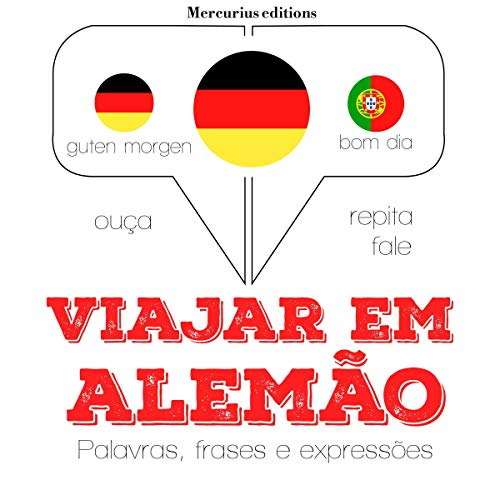Viajar em alemão audiobook cover art