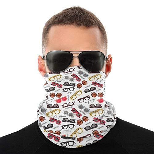 WH-CLA Bandanas Gafas Retro Cálidas Protección Solar Sombreros Deportes Sin Costuras Mujeres Invierno Hombre Aire Libre Polaina De Cuello Pañuelo Multifuncional A Prueba De Viento para F