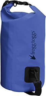 Frog Toggs SDB100-12 PVC Tarpaulin Waterproof Dry Bag with Cooler Insert Blue, 10L