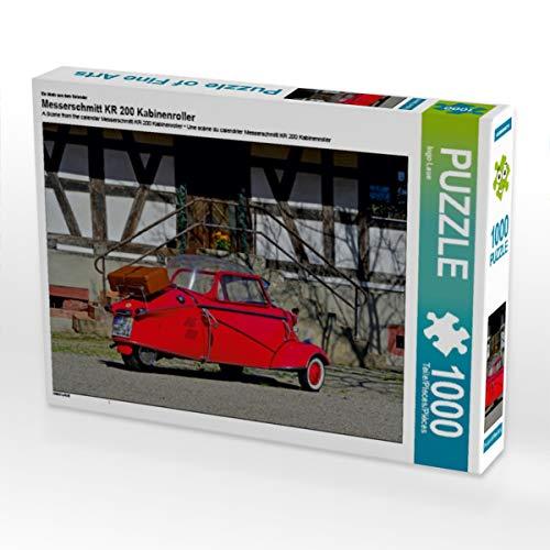 CALVENDO Puzzle Messerschmitt KR 200 Kabinenroller 1000 Teile Lege-Größe 64 x 48 cm Foto-Puzzle Bild von Ingo Laue