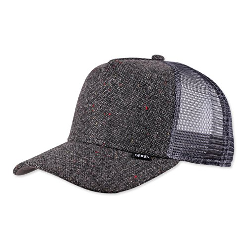 Djinns Spotted Edge (grey) - Trucker Cap Meshcap Hat Kappe Mütze Caps