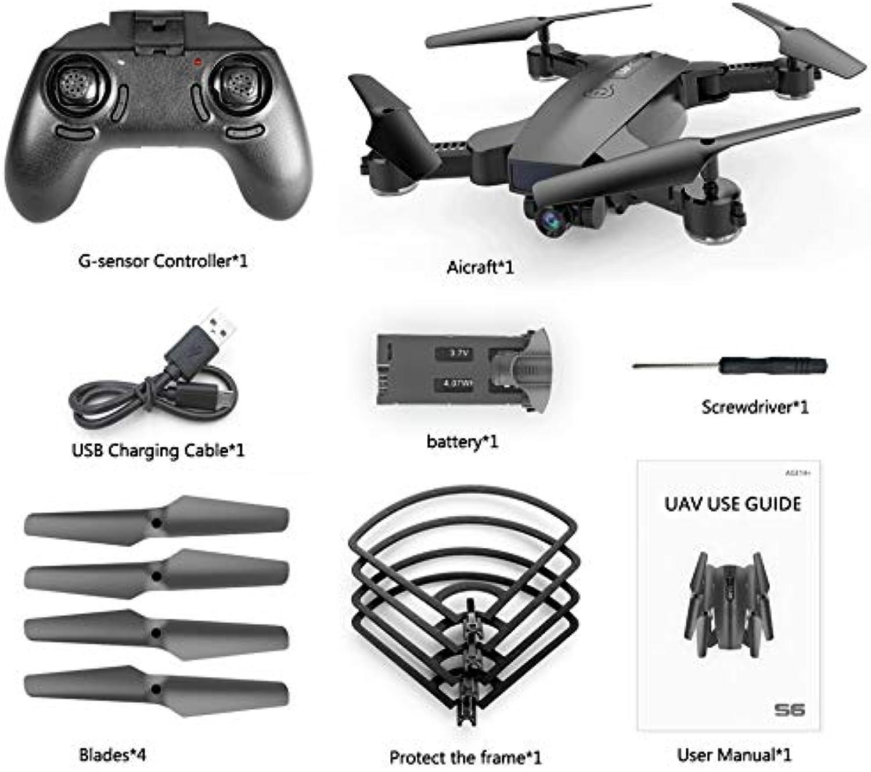 mejor precio HGJVBFGH1 S6 720P WiFi Camera Quadcopter Quadcopter Quadcopter Altitude Hold Optical Flow Positioning Drone negro  marcas en línea venta barata