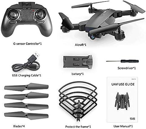 barato y de moda HGJVBFGH1 S6 720P WiFi Camera Quadcopter Altitude Hold Hold Hold Optical Flow Positioning Drone negro  promociones de descuento