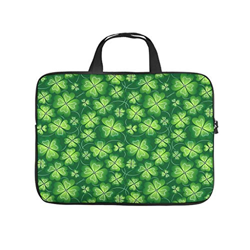 St. Patrick's Day Neoprene Laptop Sleeve 10-17 Inch Shockproof Notebook Sleeve