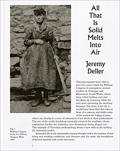 Jeremy Deller: All that Is Solid Melts into Air by Jeremy Deller (12-Oct-2013) Paperback