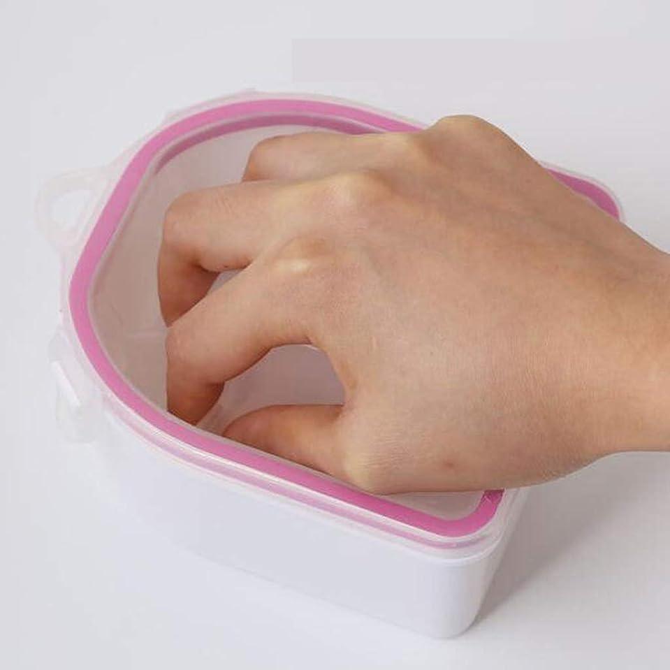 離れた動かす可塑性gazechimp リムーバーソークボウル ネイルクリーンツール ネイルアートツール