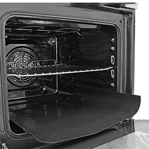 Rivestimento robusto in Teflon per il forno, tappetino per cucina, grill e forno a gas, elettrico, a microonde e fornetto, 40cm x 50cm, confezione da2pezzi
