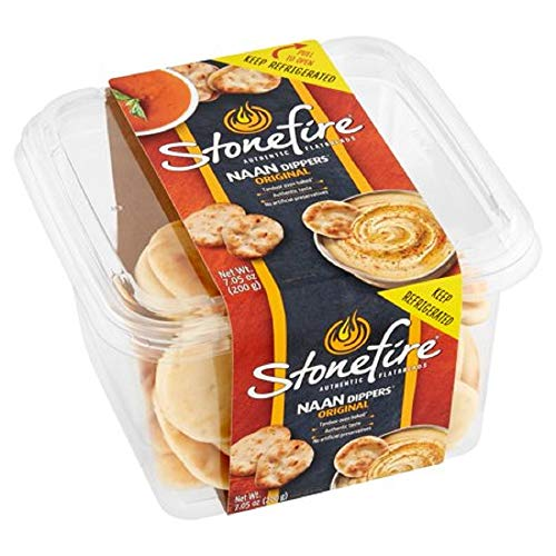Stonefire Authentic Flatbreads Naan Dippers, Original 12.3 oz. A1