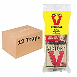Victor Original Wooden Rat Snap Trap 12 pack on Amazon.com