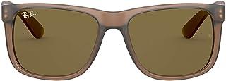 نظارات شمسية مستطيلة الشكل لمظهر اسيوي من راي بان موديل جاستن رقم RB4165F