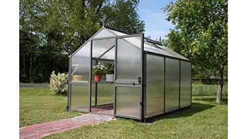 KGT Gewächshaus Rose II, BxT: 233x217cm anthrazit