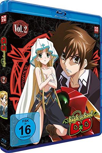 Highschool DxD - Staffel 1 - Vol.2 - [Blu-ray]