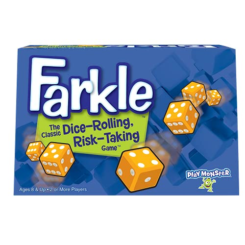 Farkle The Classic Dice-Rolling, Risk-Taking Game