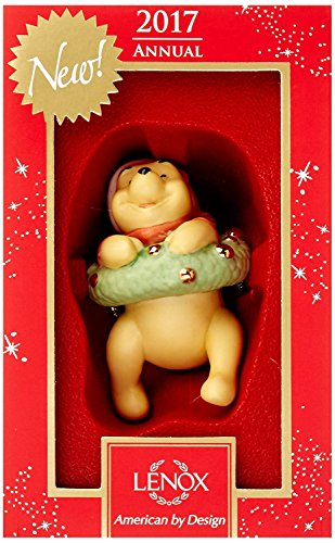 Lenox Disney Winnie the pooh 2017 Hanging Around With Pooh Ornament
