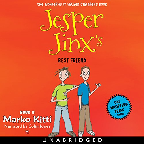 Jesper Jinx's Best Friend audiobook cover art