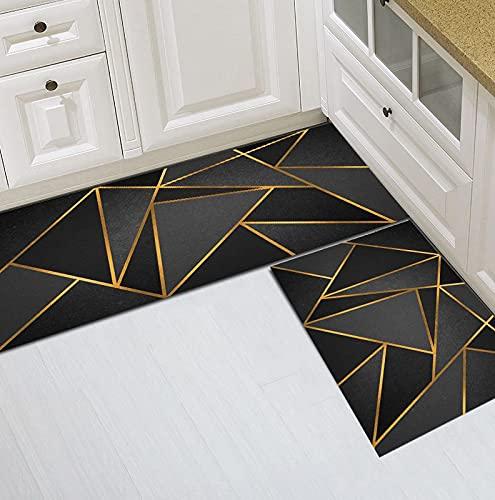 HLXX Alfombra antideslizante de cocina de dibujos animados alfombra de cocina alfombra absorbente sala de estar baño alfombra entrada A21 50 x 160 cm