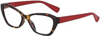 I Heart Eyewear Atherton Tortoiseshell & Red Reading Glasses, 2.75