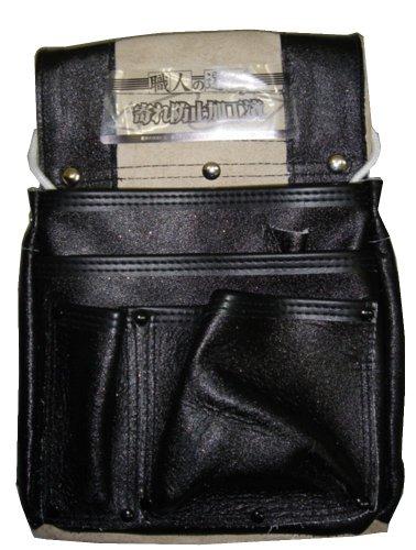 ラメエバー仮枠釘袋マチ付 ブラック KS-RM-722