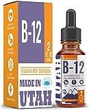 Best B12 Supplements - Vitamin B12 Liquid - Sublingual B12 Drops Review