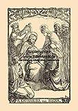 Kunstdruck Die heilige Katharina von Siena Caterina
