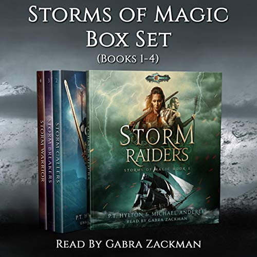 Storms of Magic Boxed Set: Storm Raiders, Storm Callers, Storm Breakers, Storm Warrior audiobook cover art