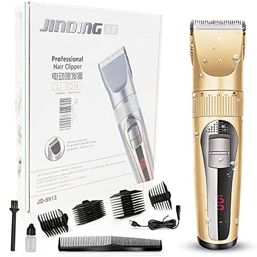 Cortapelos hombres recortadores de barba, afeitadora maquina cortar pelo profesional cuchilla de...