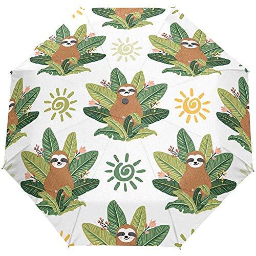 Niedlichen Tier Blumen Blume Auto offenen Regenschirm Sonnenregen Regenschirm Anti UV Falten kompakte automatische Regenschirm