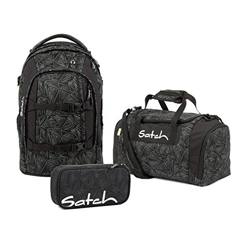 Satch Pack schoolrugzak set 3-delig Topstar Ed. (incl. etui Box + sporttas) 30 l
