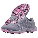 Women Golf Shoes Professional Spikes Golf Sneakers Ladies Classic Walking Shoes Women Big Size Golfing Footwear