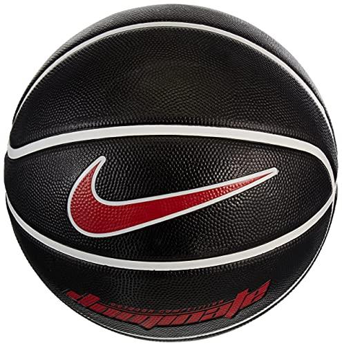 Nike Unisex - Balón de fútbol Dominate para Adultos, Color Black/White/White/University Red, tamaño 5