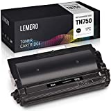 LEMERO Compatible Toner Cartridge Replacement for Brother TN750 TN720 TN-750 to use with HL-5470DW MFC-8710DW MFC-8910DW MFC-8950DW HL-5450DN DCP-8150DN DCP-8110DN (Black, 1-Pack)
