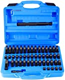 BTSHUB 52 Pieces Custom Bushing Driver Set Transmission Wheel Axle Bearing Race and Seal Installer Remover Tool Kit