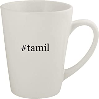 #tamil - Ceramic 12oz Latte Coffee Mug